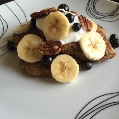 Banana Oat pancake 2