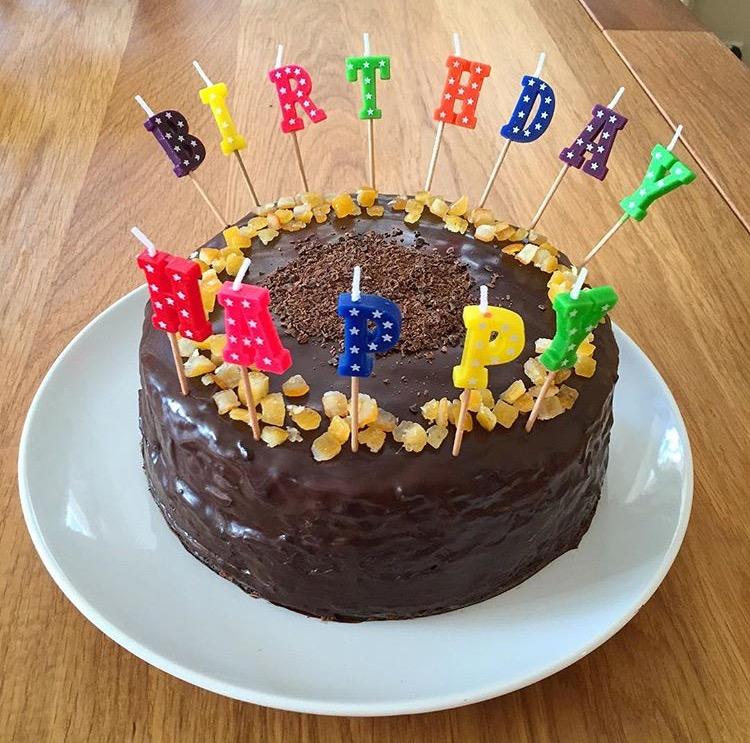 mum cake candles