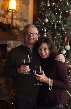 Dad and Teresa